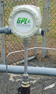 GPL 100 thermal mass flow meter