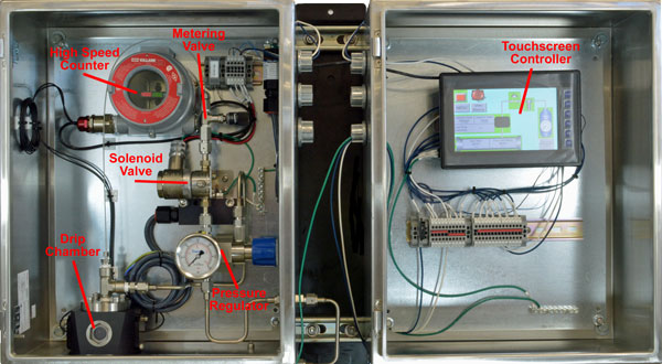 GPL 750 odorant injection system