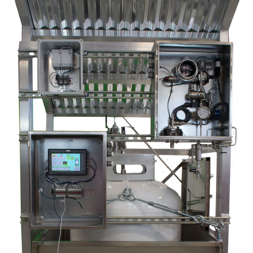 portable odorant injection systems