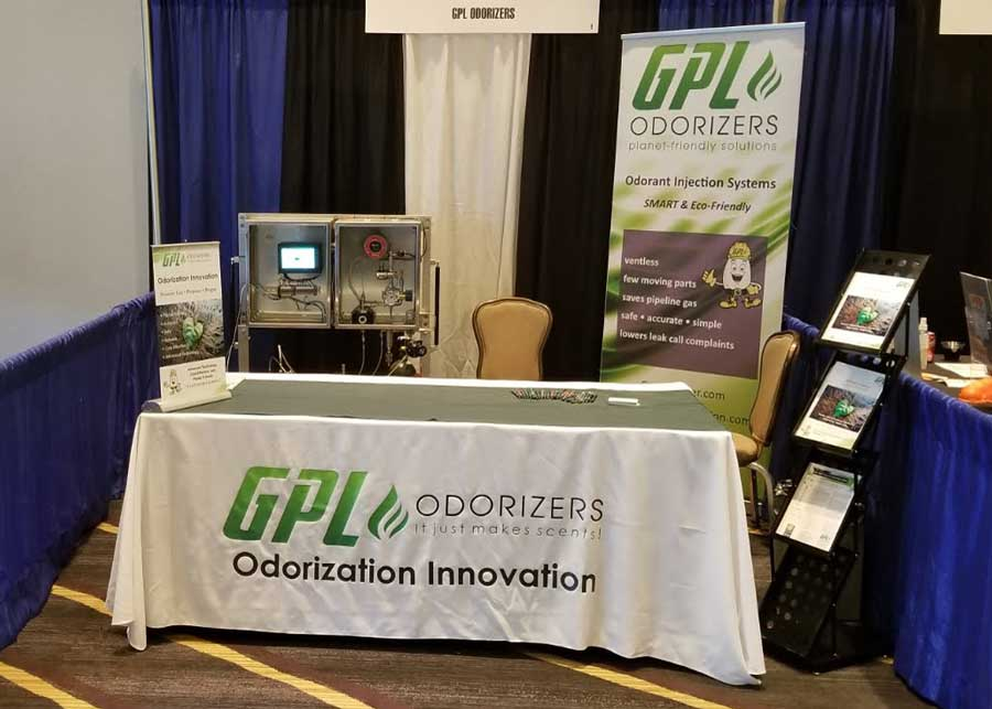 GPL Odorizer s booth American School of Gas Measurement Technology 2019 (ASGMT)