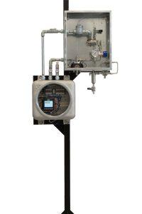 intrinsically safe 750 odorizer on stand - interior