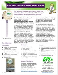GPL 100 Flow Meter