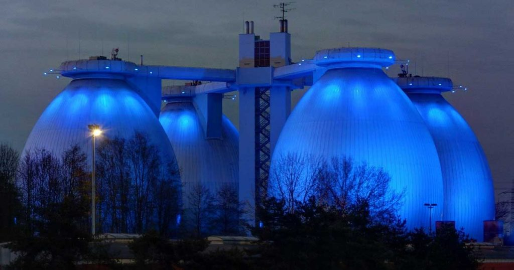 egg-shaped anaerobic digester
