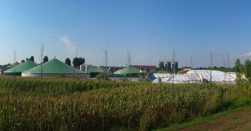 biogas production at farm