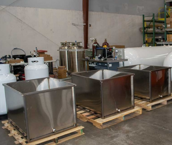 odorant tanks and containment skids